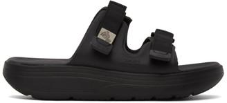 Suicoke Black Zona Sandals