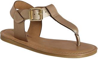 Pierre Dumas Girls' Sandals rose - Rose Gold Spicy T-Strap Sandal - Girls