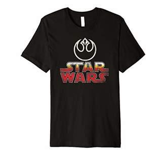 Star Wars Vintage Atari Arcade Logo Rebel Alliance Premium T-Shirt