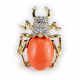 Kenneth Jay Lane Coral Beetle Ring