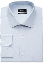 Alfani Men's Performance Mallard Blue Dobby Dress Shirt