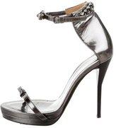 3.1 Phillip Lim Leather Ankle Strap Sandals