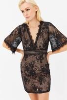 Coast Flare Sleeve Lace Dress