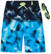 ZeroXposur Quantum Stripe Swim Trunks - Boys 8-20