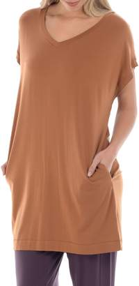 Freda Paper Label Departures V-Neck Tunic