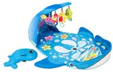 Infantino Wonder Whale Kicks & Giggles Activity Gym - Blue