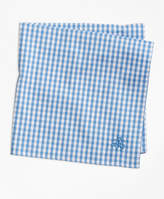 Brooks Brothers Supima® Cotton Gingham Pocket Square