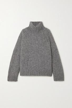 By Malene Birger + Net Sustain Aleya Oversized Alpaca-blend Turtleneck Sweater - Gray