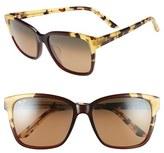 Maui Jim Women's Moonbow 57Mm Polarizedplus2 Sunglasses - Marsala Tokyo Tortoise/ Bronze