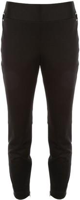 Alexander McQueen Lace-Up Detail Skinny Trousers