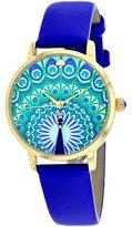 Kate Spade KSW1285 Metro Blue Leather Strap Women's Watch