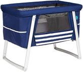 babyhome® Dream Air Portable Bassinet in Sailor Blue/White