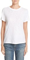 Vince Women's Fitted Slub Cotton Tee