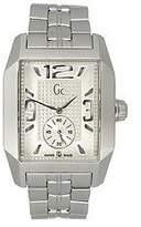 GUESS , Men'S , Square Off-White Dial , Stainless Steel Bracelet , Watch # G19008G1