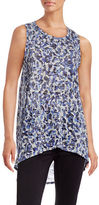 Two By Vince Camuto Hi-Lo Burnout Tank