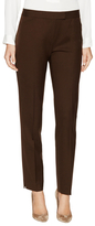Lafayette 148 New York Stretch Wool Narrow Ankle Pant