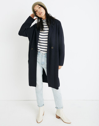 Madewell Double-Breasted Sweater-Coat