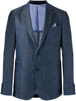 Z Zegna woven blazer - men - Cotton/Linen/Flax/Cupro - 48