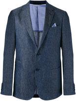 Z Zegna woven blazer - men - Linen/Flax/Cupro/Cotton - 48