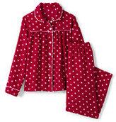 Lands' End Girls Flannel Pattern Set-Scottie Dogs