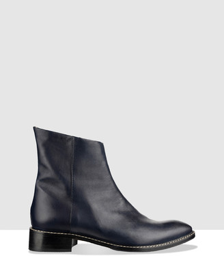 Habbot. Moro Flat Ankle Boots