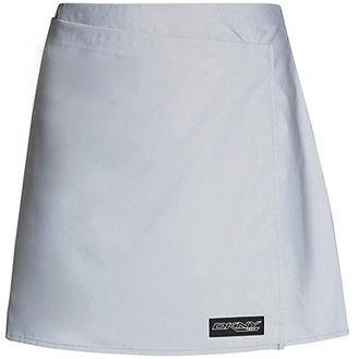 DKNY Reflective Wrap Skirt