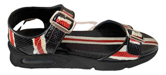 Givenchy Black Python Sandals