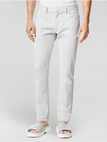 Calvin Klein Collection Contrast Twill Slim Jean