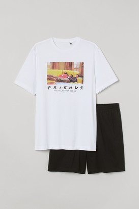 H&M Pajama T-shirt and Shorts
