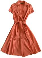 Galliano Pink Wool Dress for Women