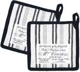 +Hotel by K-bros&Co Hotel Plaid 'n Patch Pot Holder 2-pk.