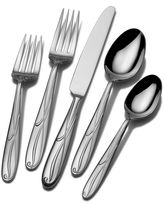 Mikasa Cocoa Blossom 18/10 Stainless Steel 65-pc. Flatware Set