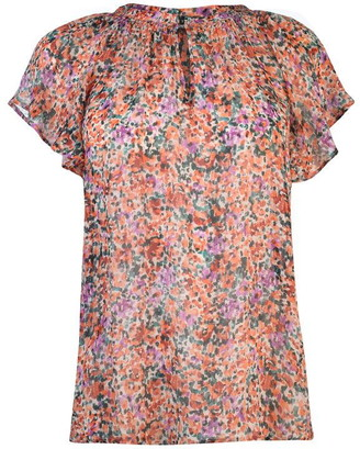 SET Womens All Over Printed Blouse