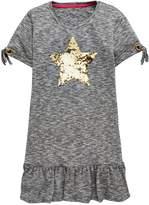 Very Eyelet Detail T Shirt Dress