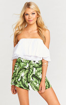MUMU The Great Wrap Short ~ Frond of You