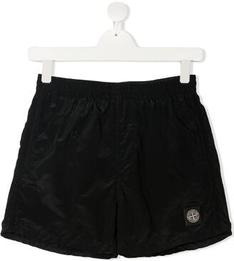 Stone Island Junior TEEN shell shorts