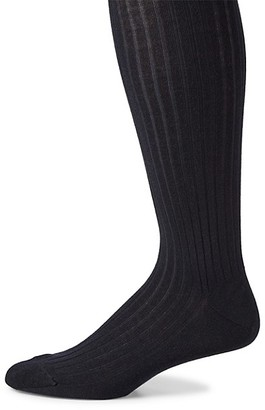Marcoliani Milano Ribbed Merino Wool Blend Socks