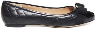 Salvatore Ferragamo Varina Ballerina Flat Shoes