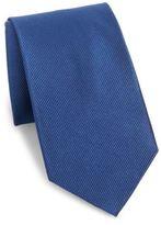 Burma Bibas Solid Silk Tie