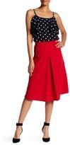 Bobeau Pleated Skirt