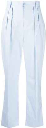 Nanushka Reya pleat-front trousers