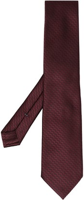 Ermenegildo Zegna Silk Jacquard Tie