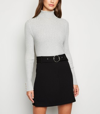 New Look JDY Belted Mini Skirt