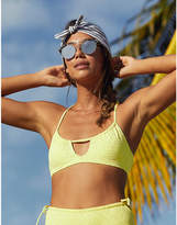 aerie Eyelet Scoop Bikini Top