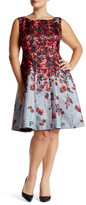 Taylor Floral Fit & Flare Dress (Plus Size)