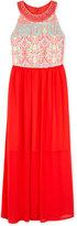 Amy Byer Printed Maxi Dress, Big Girls (7-16)