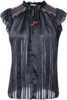 Ulla Johnson embroidered sleeveless blouse