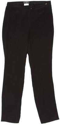 Chanel Black Silk Trousers