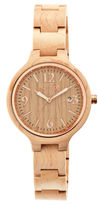 Earth Wood Nodal Kahki Bracelet Watch With Date Ethew2001