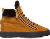 Giuseppe Zanotti May london shearling-lined suede boots
